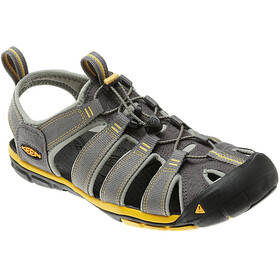 Keen Clearwater CNX Sandals Herren Gargoyle/Super Lemon